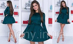 Женское Платье с фатиновым подъюбником