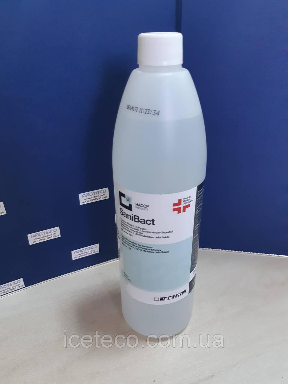 Дезинфицирующее средство с антибактериальным действием (концентрат флакон 1 л) SaniBact AB1085.K.01 Errecom