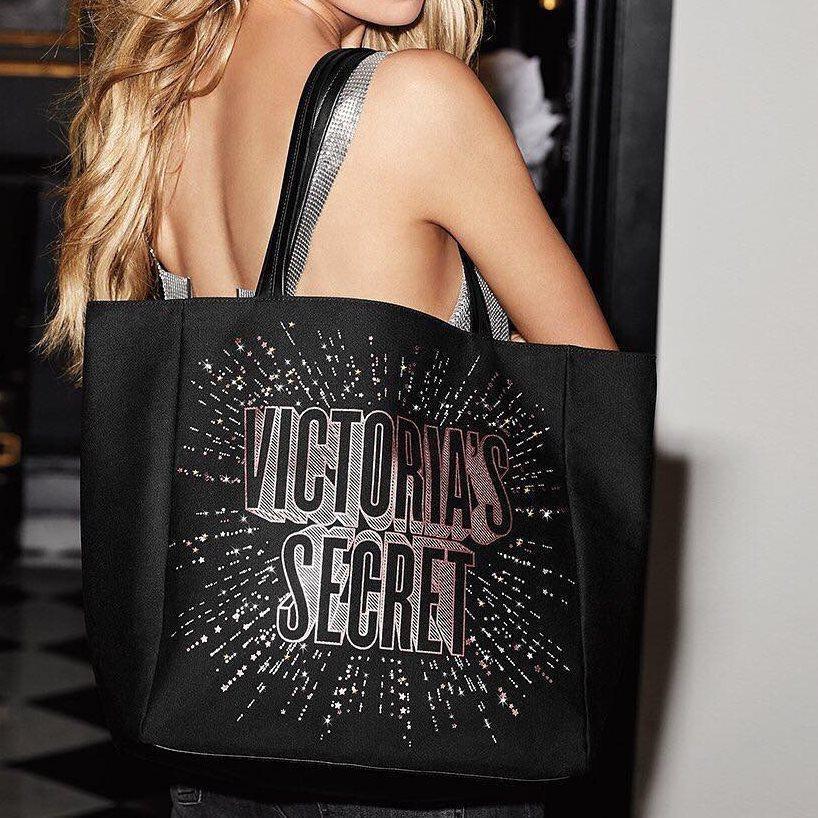 Victoria's Secret Городская Сумка Tote Bag, Черная