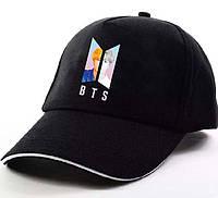 Кепка Бейсболка BTS Ким Сок Джин Jin Черная