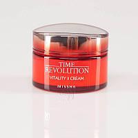 Интенсивный антивозрастной крем MISSHA Time Revolution Vitality Cream - 50 мл