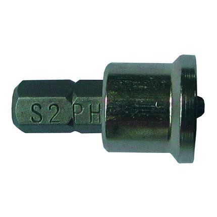"""Набор бит с ограничителем PН2x25мм 1/4"""" 10шт S2 (блистер) Sigma (4010281), фото 2"""