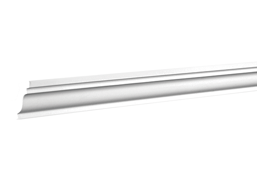 Карниз стельовий 6.50.130, ліпний декор з поліуретану.