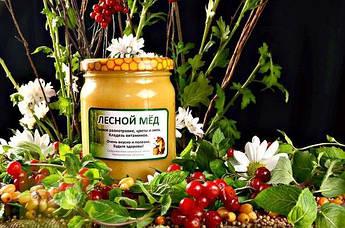Мед лесное разнотравье цветы и липа 500мл