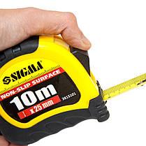 Рулетка shiftlock 10м*25мм Sigma (3815101), фото 3