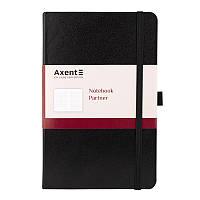 Книга записная Axent Partner 125*195 96л кл черный 8201-01-A