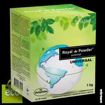 Стиральный порошок универсальный с запахом белых цветов De La Mark 1кг