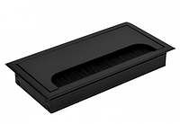Пропуск для кабеля врезной Virno Lines 80/160 черный