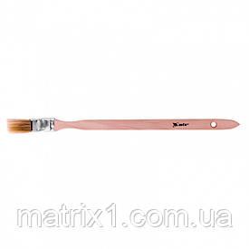 """Кисть радиаторная 1""""(25мм), натуральная щетина, деревянная ручка MATRIX"""