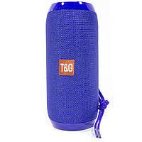 ➨Колонка беспроводная T&G TG117 Blue блютуз для музыки с флешкой и картой памяти