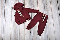 Детский спортивный ангоровый костюм MagBaby, марсала / 104 (4роки)