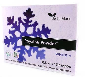 Стиральный порошок White для белого белья Royal Powder De La Mark