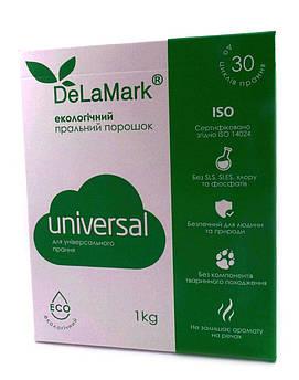 Экологичный стиральный порошок Universal De La Mark 1 кг