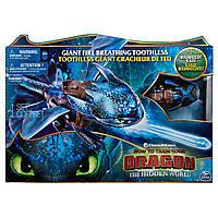 Spin Master Dragons Интерактивная игрушка дракон Беззубик Огненное дыхание Как приручить дракона 3