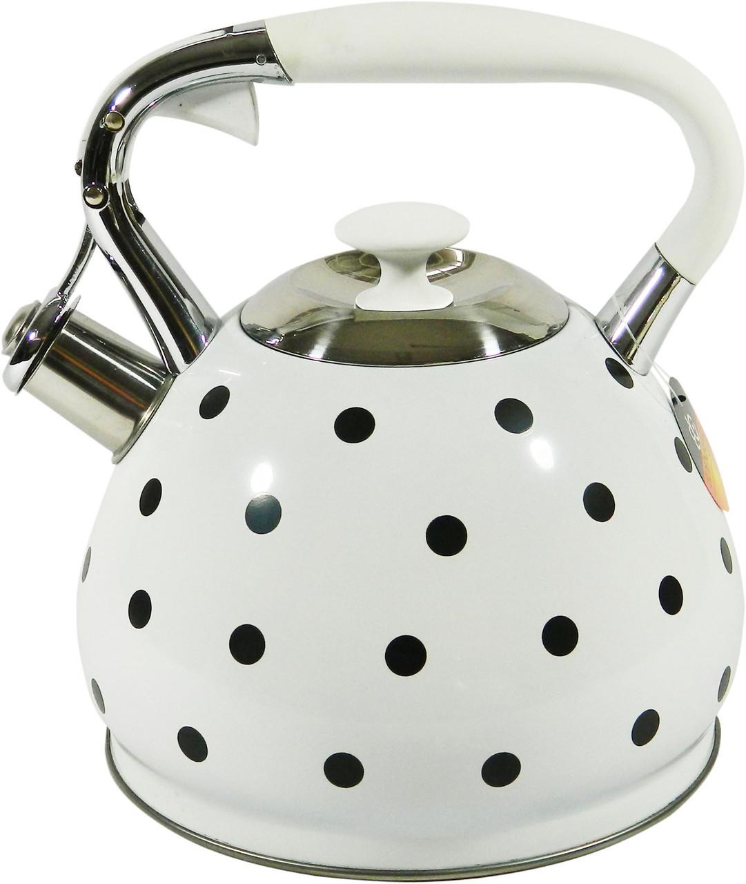 Чайник со свистком 3.0 л. EDENBERG EB-1908 (индикатор нагрева)