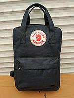 Стильный рюкзак, сумка Fjallraven Kanken, для прогулок и спорта (темно-серый), фото 1