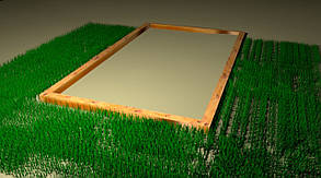 Фундамент под теплицу ширина 4 метра  Брус 100*100