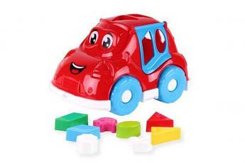 Машинка-сортер с фигурками (красная) 5927