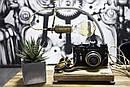 Настільна лампа Pride&Joy з вінтажним фотоаппаратом, фото 5