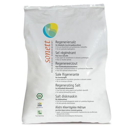 Регенеруюча сіль для посудомийних машин Sonett 1 л