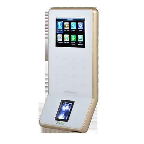 Сетевой Биометрический терминал УРВ ZKTeco F22 SilkID / MF (Белый) + Wi-Fi