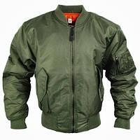 Куртки летные реплика MA-1 Flight Jacket олива от Miltec, фото 1