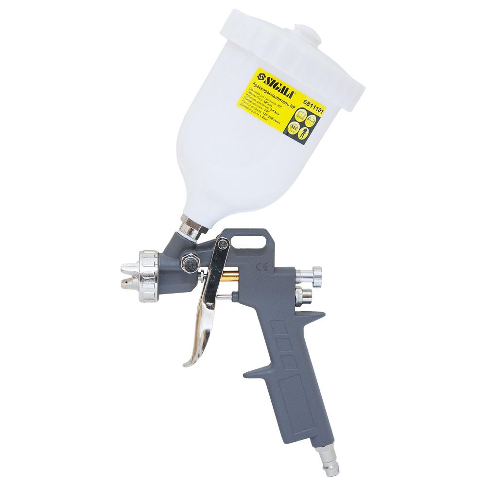 Краскораспылитель HP Ø1,4мм с в/б (пласт) Sigma (6811101)