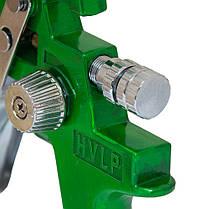 Краскораспылитель HVLP Ø1.3+1,7 с в/б (зеленый) Sigma (6812121), фото 3