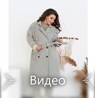Пальто кашемировое на подкладке, фото 1