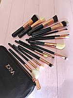 Набор кистей для макияжа Zoeva Rose Golden 15 штук (Luxury)