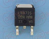 MOSFET N-канал 30В 86А IR IRLR8726 TO252