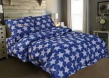 Комплект постельного белья   Звезды на синем