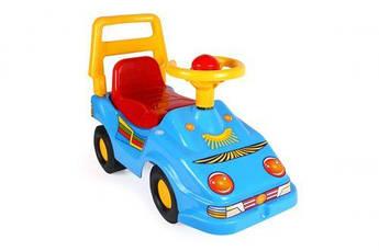 Іграшка Автомобіль для прогулянок Еко ТехноК синий. 1196