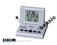 Электронные часы-будильник VST-7059