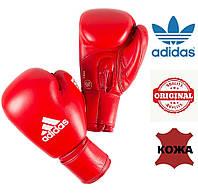 Боксерские перчатки Adidas с лицензией AIBA (AIBAG1, красные), фото 1