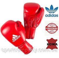 Боксерские перчатки Adidas с лицензией AIBA (AIBAG1, красные)