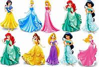 Вафельная картинка для топпера принцессы