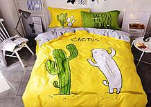 Комплект постельного белья   Модный кактус