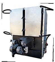 Твердотопливный, пеллетный котел 800 кВт с факельной горелкой + шнек питатель + щит управления