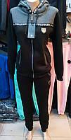 Утепленный спортивный костюм с капюшоном