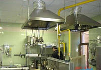 Вентиляция на кухне. Профессиональное обслуживание. Киев