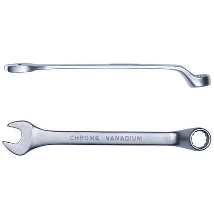 Ключ рожково-накидной глубокий 18мм CrV satine Sigma (6024181), фото 2