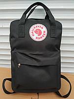 Стильный рюкзак, сумка Fjallraven Kanken, для прогулок и спорта (черный), фото 1