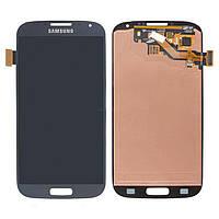 Дисплей (экран) для телефона Samsung Galaxy S4 I9500, I9505, I9506, I9507, I337, I545, M919 (Super AMOLED) + Touchscreen Original Blue
