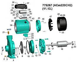 """Насос центробежный 2.2кВт Hmax 31м Qmax 450л/мин 2"""" LEO 3.0 (775267), фото 2"""
