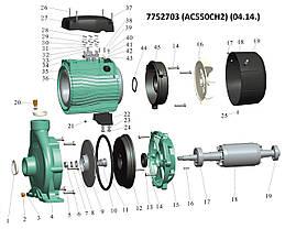 """Насос центробежный 380В 5.5кВт Hmax 54м Qmax 500л/мин 2"""" LEO 3.0 (7752703), фото 2"""