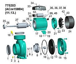 """Насос центробежный 1.5кВт Hmax 14.5м Qmax 1000л/мин 4"""" LEO 3.0 (775283), фото 2"""