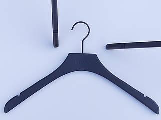 Плечики вешалки тремпеля  Mainetti Mexx цвет матово-черный цвета, длина 42 см