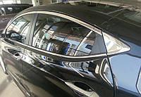 Hyundai Elantra (2011-) Окантовка стекол полная 10шт