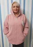 Женское пальто с капюшоном из шерсти альпака, фото 3